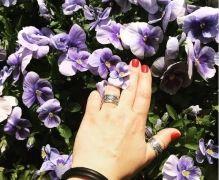 Серебряные кольца ручной работы