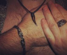 Браслет, кулон и перстень