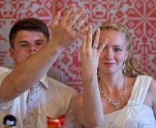 Свадебные кольца оригинальные