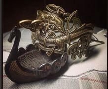 Заколка «Мировой Змей»  фото 1