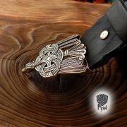 Ремень с пряжкой «Рарог» фото 4