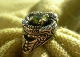 Кольцо «Змеевик»