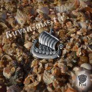 Подвеска «Драккар викингов» фото 3