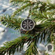 Кольцо-оберег Шлем Ужаса (Агисхьяльм) фото 8