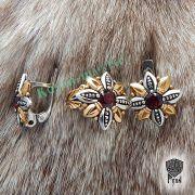 Кольцо Цветок Папоротника (Огнецвет) фото 8