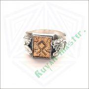 Перстень «Сила и Слава» с рунами Старшего Футарка фото 6