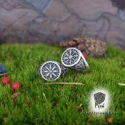 Кольцо-оберег Шлем Ужаса (Агисхьяльм) фото 2