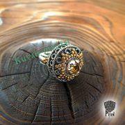 Перстень «Боярский с зернью» фото 2