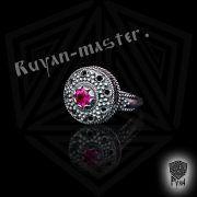 Перстень «Боярский с зернью» фото 6