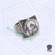 Кольцо «Волчий вой» фото 2