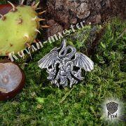 Серебряная подвеска «Змей Горыныч» фото 2