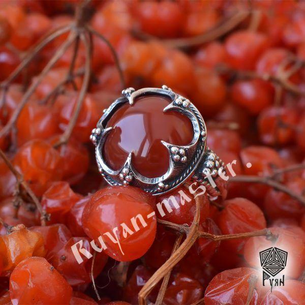 Серебряное кольцо «Готланд» фото 1