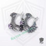 Серьги «Драконы, охраняющие сокровище» фото 5