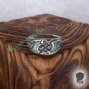 Кольцо «Драконы викингов» фото 1