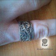 Кольцо «Мировой Змей» фото 6