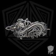 Заколка «Мировой Змей» фото 7