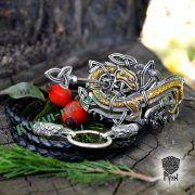 Заколка «Мировой Змей» фото 3
