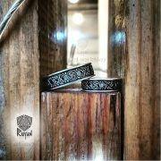 Серебряное кольцо-оберег «Звезда Руси» фото 6