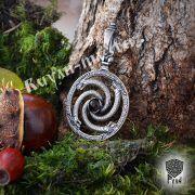 Подвеска «Змеевик» с камнем фото 2