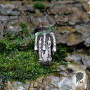 Кольцо «Когти» с грифонами и драконами фото 4