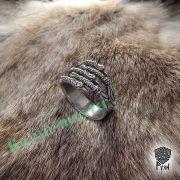 Кольцо «Когти» с грифонами и драконами фото 5