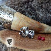 Кольцо «Когти» с грифонами и драконами фото 1