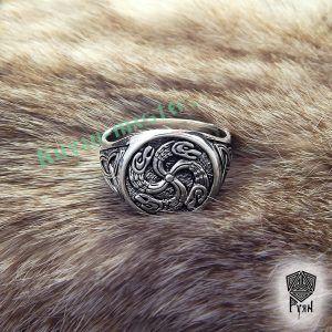 """Перстень """"Змеевик"""""""