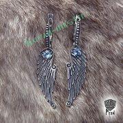 Серьги «Крылья» фото 2