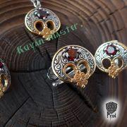 Кольцо «Лунница весенняя» фото 3