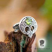 Кольцо «Лунница весенняя» фото 1