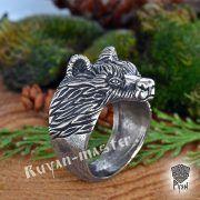 Перстень «Медведь» фото 1
