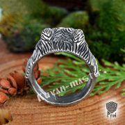 Перстень «Медведь» фото 4