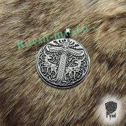 Серебряный кулон Дерево жизни Иггдрасиль фото 5