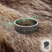 Обручальные кольца «Обережное» из серебра фото 2