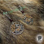 Серьги «Скифские олени» фото 4