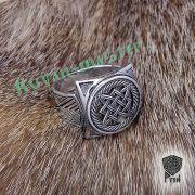 Перстень «Квадрат Сварога (Звезда Руси)» фото 1