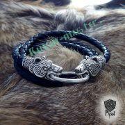Кожаный шнур/браслет «Медведи кусачие» фото 8