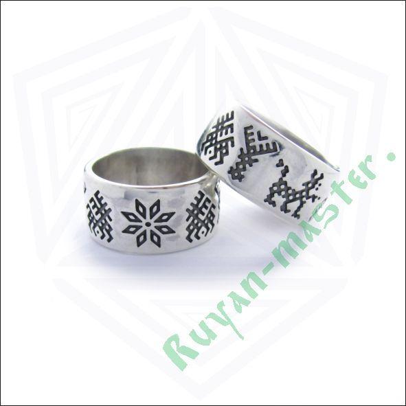 Обручальные кольца «Обережное зооморфное» фото 1