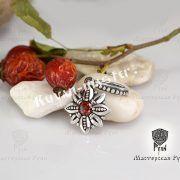 Кольцо Цветок Папоротника (Огнецвет) фото 4