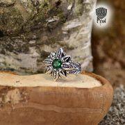 Кольцо Цветок Папоротника (Огнецвет) фото 7