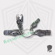 Браслет «Олени» викинг плетение фото 9