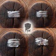 Серебряное кольцо перо Жар-Птица фото 3