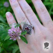Перстень «Ромб с зернью» фото 3