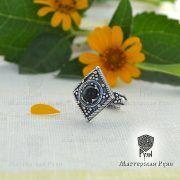 Перстень «Ромб с зернью» фото 8