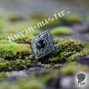 Перстень «Ромб с зернью» фото 5