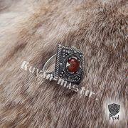 Перстень «Ромб с зернью» фото 7