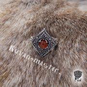 Перстень «Ромб с зернью» фото 6