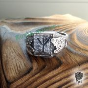 Перстень «Сила и Слава» с рунами Старшего Футарка фото 7