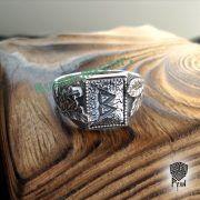 Перстень «Сила и Слава» с рунами Старшего Футарка фото 8