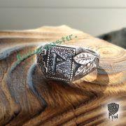 Перстень «Сила и Слава» с рунами Старшего Футарка фото 9